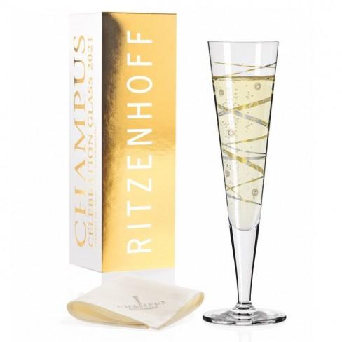 Чаша за шампанско 0.2л Swarowski 21