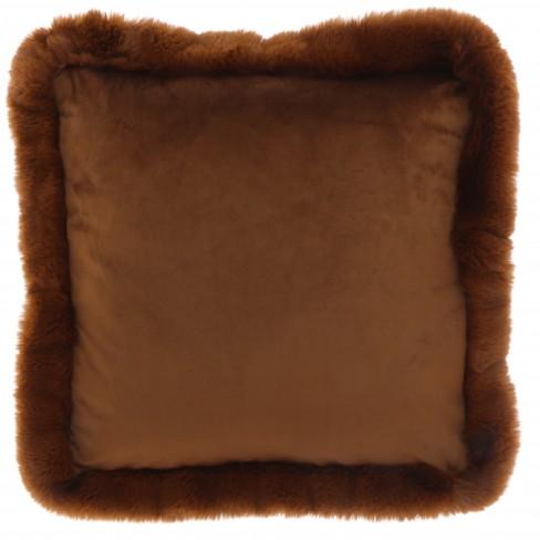 Възглавница 45х45см Maysa кафява