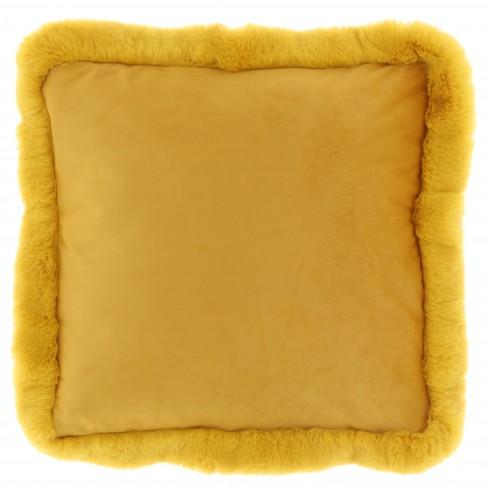 Възглавница 45х45см Maysa жълта