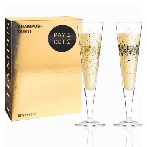 Кт/2 чаши за шампанско 200мл Ramone Rosencrantz 20