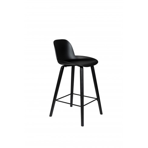 Висок стол 88.5см Albert Kuip All Black черен