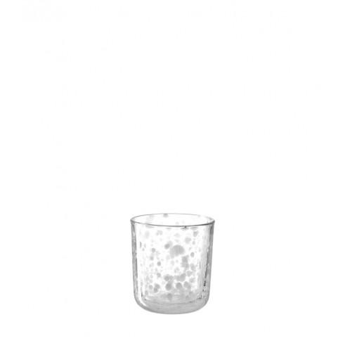 Свещник за чаена свещ 9см Tulipano бял