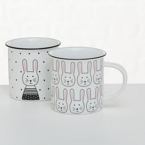 Порцеланова чаша Mug 400мл Mucki два вида