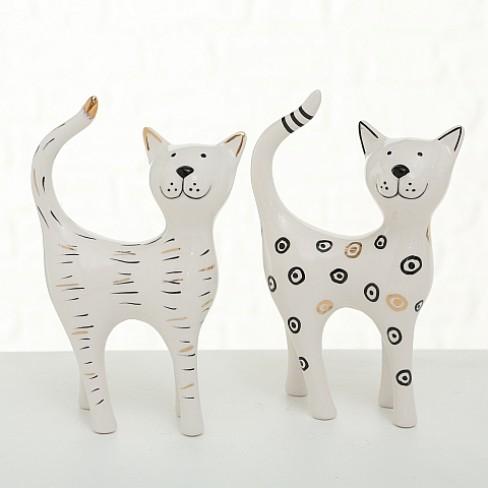 Декоративна фигура котка 16см Luminita два вида