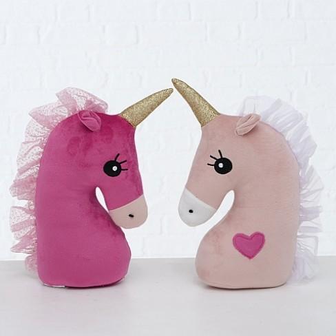 Стопер за врата еднорог 25см Unicorn два вида