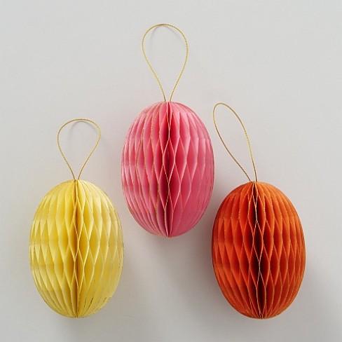 Висяща фигура яйце 12см Sander три цвята