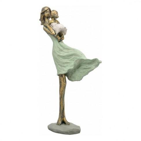 Скулптура жена с бебе 31см Hilda