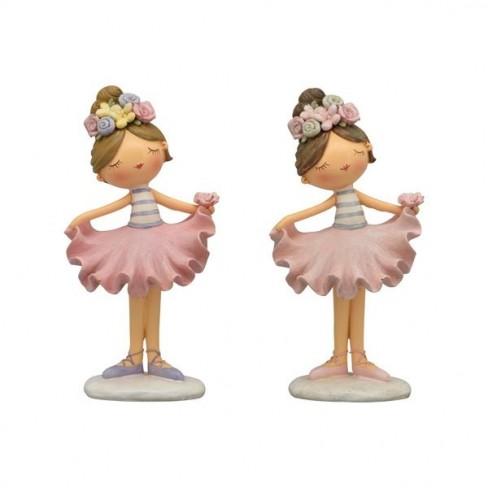 Декоративна фигура момиче 13см Sannie два вида