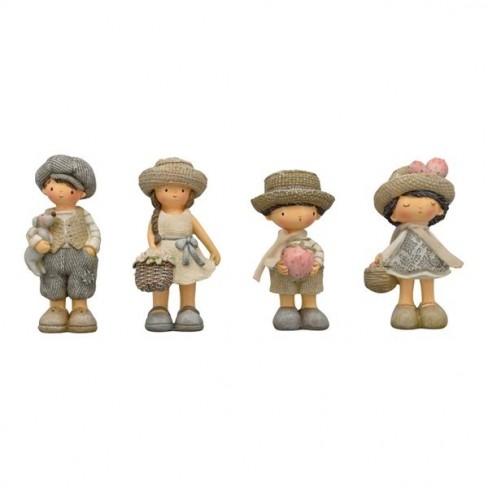 Декоративна фигура дете 11см Sannie четири вида