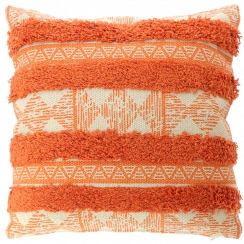Възглавница на раета 45х45см Bowie оранж