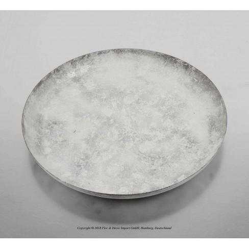 Кръгло плато 20см бяло
