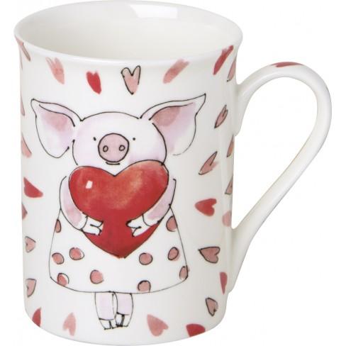 Чаша Mug 375мл Piggy Love