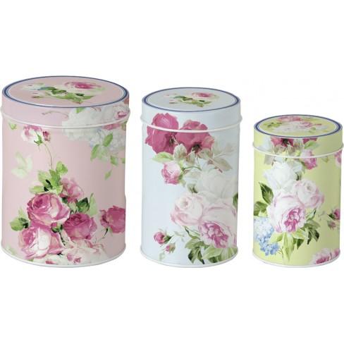 Кутия за чай Scarlett розова голяма
