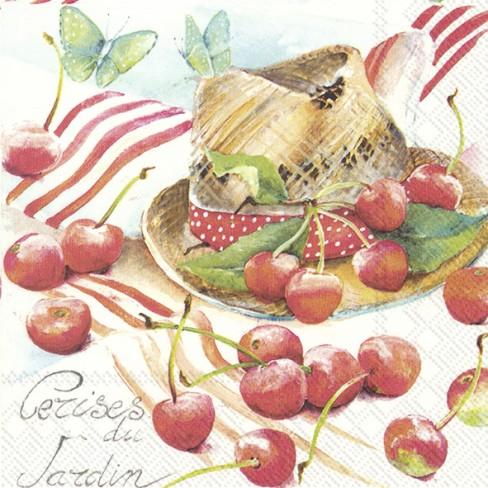 Салфетки 20бр Summer Cherry