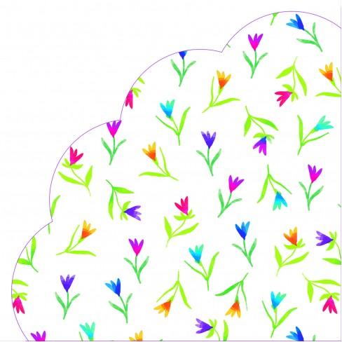 Салфетки 12бр Colourful Flowers