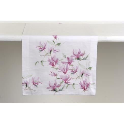 Тишлайфер 45х150см Magnolia Poesie бял