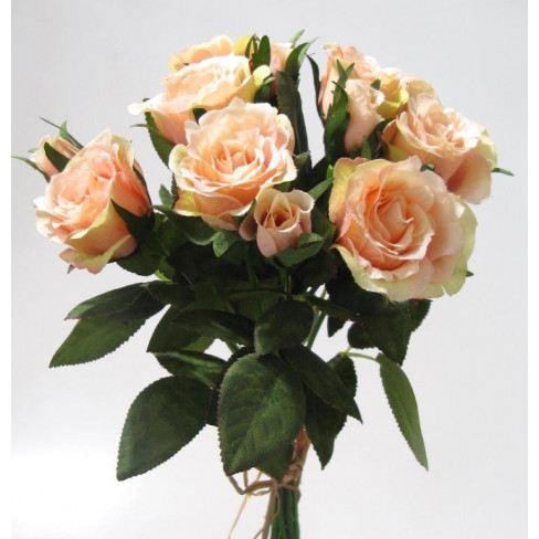 Букет рози 27 см оранж