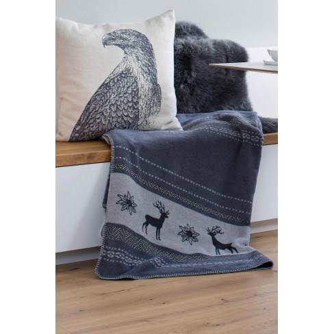 Одеяло Savona Stag & Edelwiess сиво 150x200см