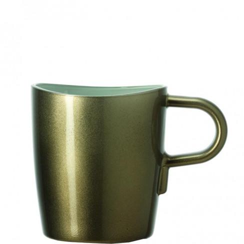 Чаша за кафе Loop 260 мл кафява