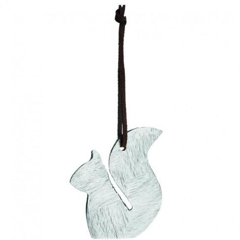 Висяща метална фигура катерица Edy Castagna 9см