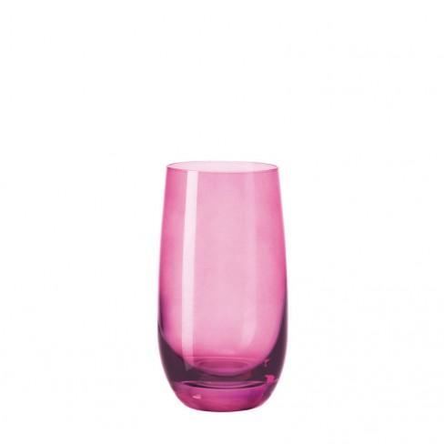 Чаша за безалкохолно Sora 390 мл розова