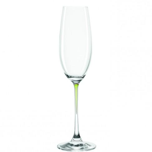 К-т/2 чаши за шампанско La Perla Verde