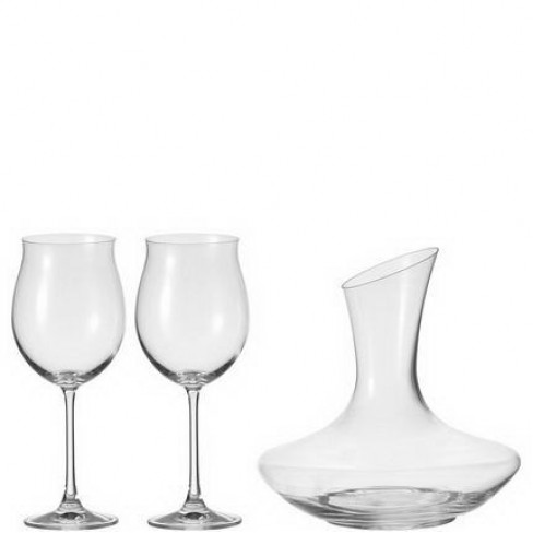 К-т декантер с 2 чаши за червено вино Trio