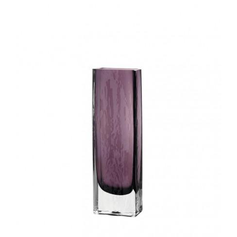 Правоъгълна ваза 33см Lucente лила