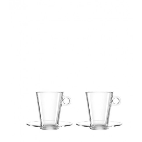 Кт/2 чаши с чинийки 350мл Limito Late Macchiato