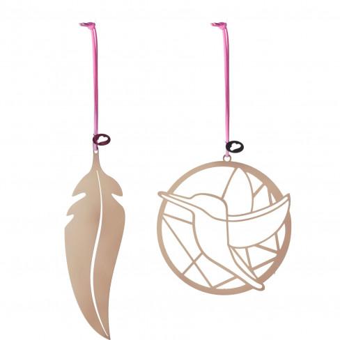 Висяща фигура перо/птица Lucente два вида