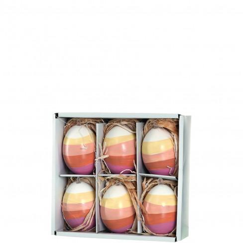 Висяща фигура яйце 6см Pastello