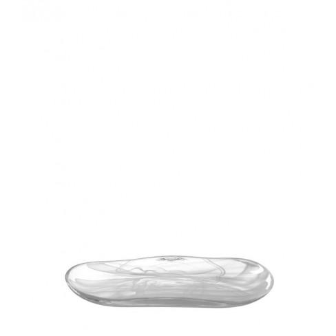 Плато 35х19см Alabastro Nido бяло