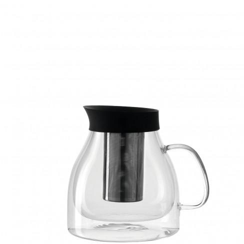 Двустенна кана за чай с цедка 1 л Duo