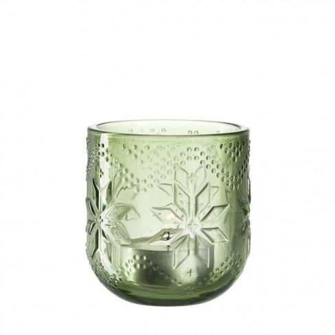 Свещник 7см зелен Nordico
