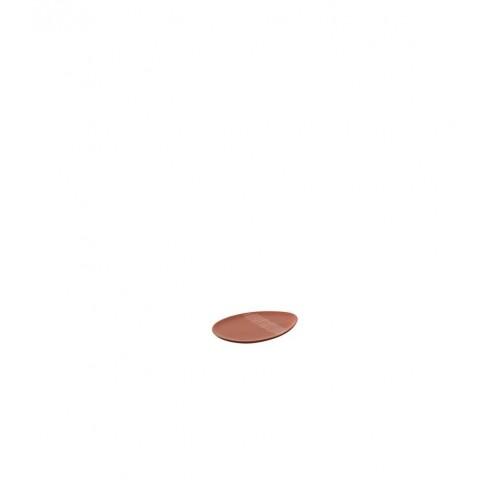 Плато яйце 22см Gino Nido оранж мат