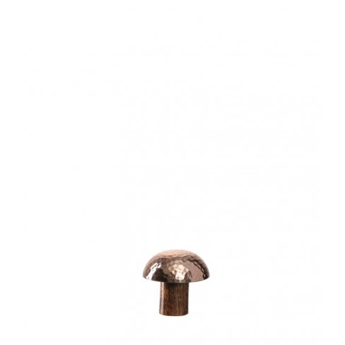 Дървена фигура гъба 7см Foresta кафява