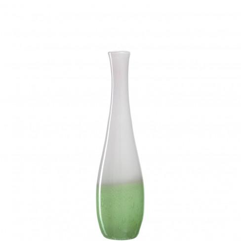 Ваза 50см Casolare бяло/зелена