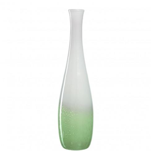 Ваза 59см Casolare бяло/зелена