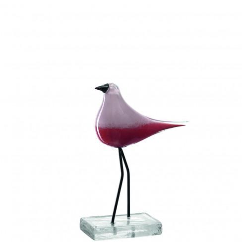Фигура птица 26см Casolare червена