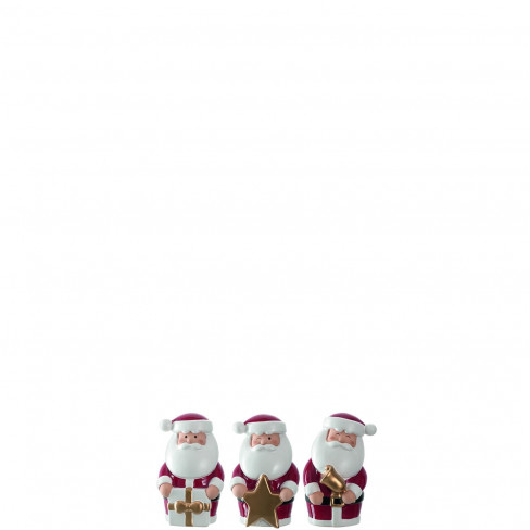 Фигура Дядо Коледа 6см Clause Festivo три вида