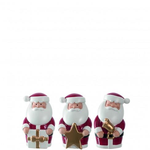 Фигура Дядо Коледа 11см Clause Festivo три вида