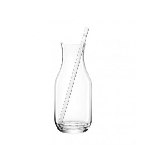 Гарафа 0.7л със стъклена сламка Bar Estate