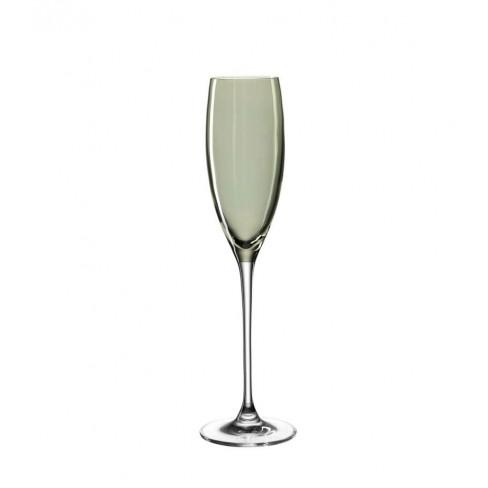 Чаша за шампанско 220мл Lucente зелена