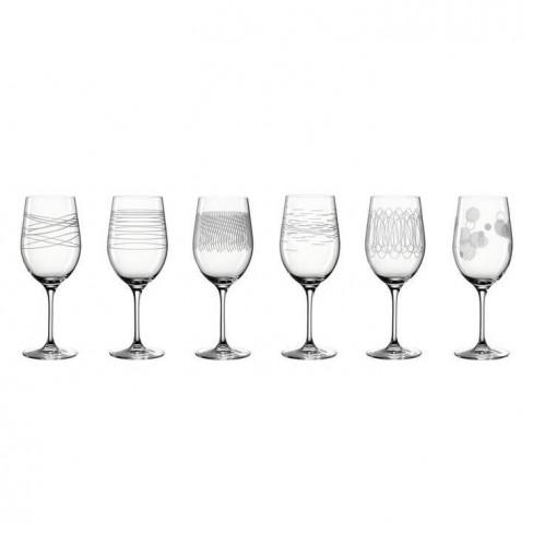 Кт/6 чаши за вино 430мл Casella
