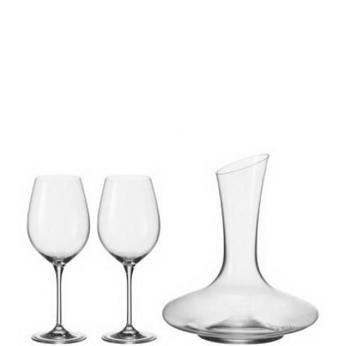 К-т декантер с 2 чаши за вино Barcelona
