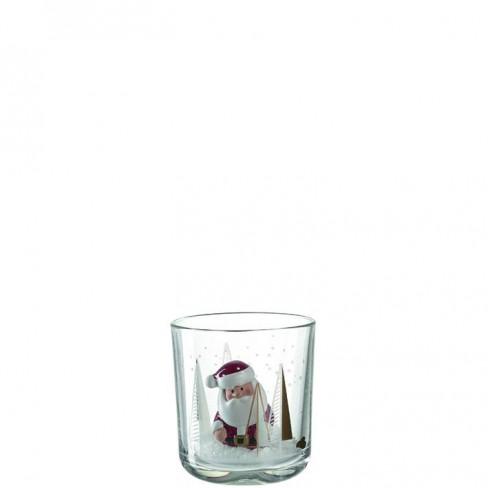 Декоративна чаша с Дядо Коледа 9см Clause Festivo