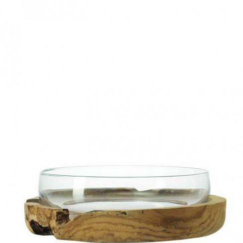 Фруктиера 39см с дървена подложка