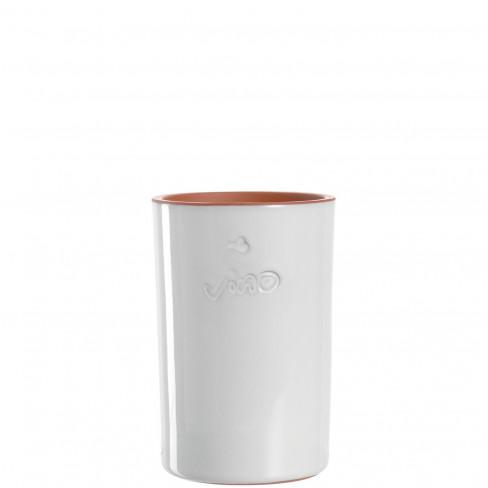 Керамичен охладител за вино бял