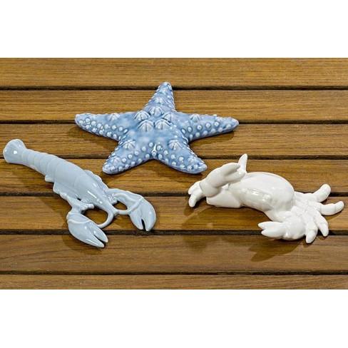 Фигура морски обитател 13см три вида