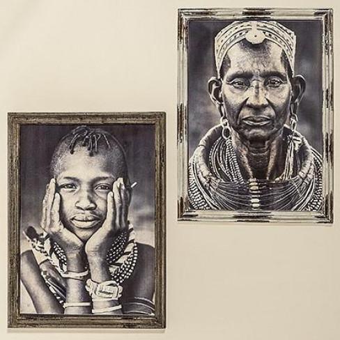 Картина 74х93см Massai два вида